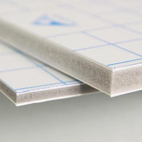 foto en cartón pluma Kapa-Fix - foto foam gris - kapa